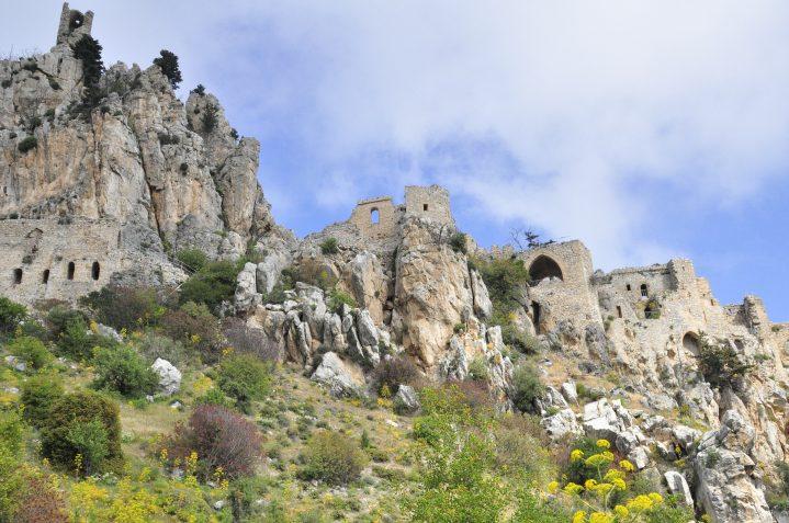 Burgruine St. Hilarion im Norden Zyperns