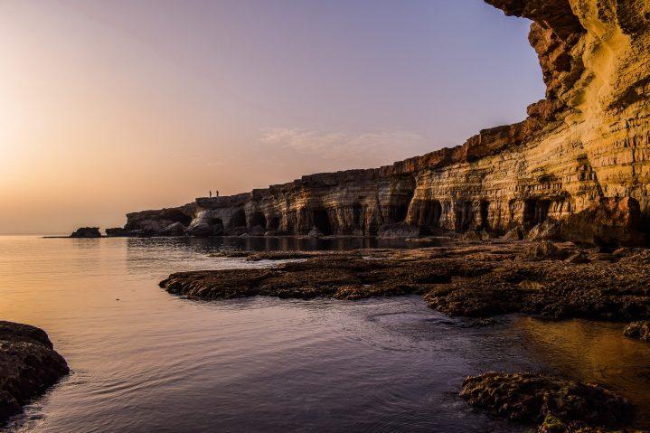 Klippen am Kap Greco auf Zypern