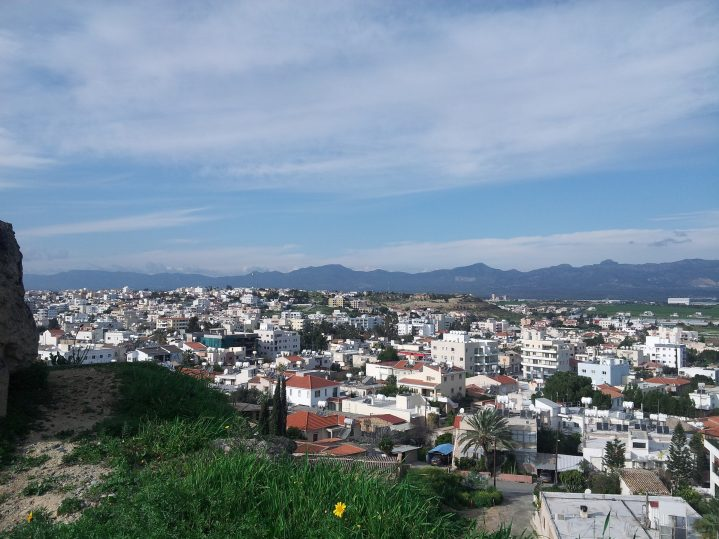 Panoramablick Nikosia Hauptstadt Zypern