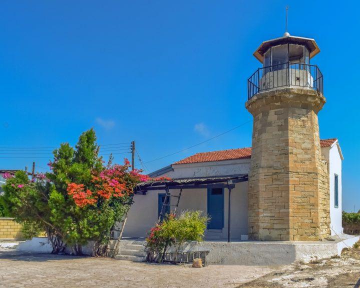 Leuchtturm in Pervolia auf Zypern