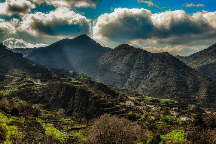 Troodos Gebirge auf Zypern