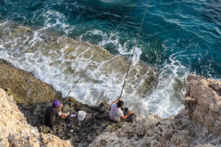 Fischer bei Ayia Napa auf Zypern