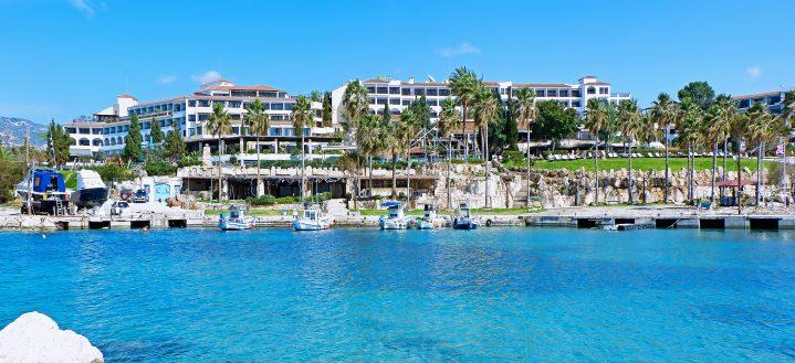 Promenade von Paphos auf Zypern