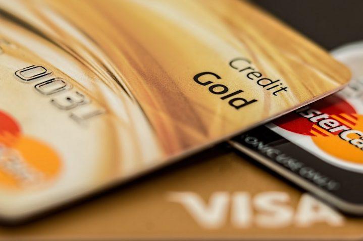 Beispielbild einer goldenen Kreditkarte
