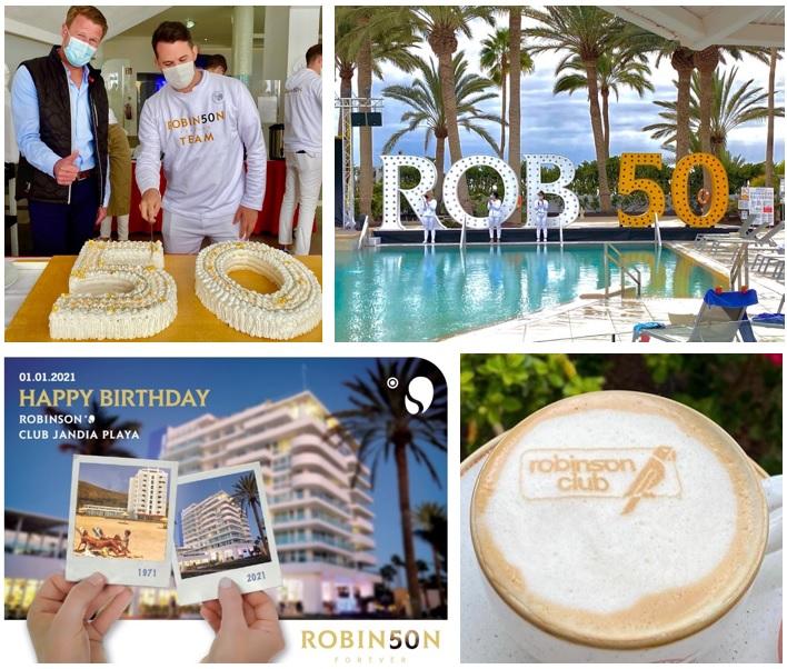 50. Geburtstag des ROBINSON Club Jandia Playa