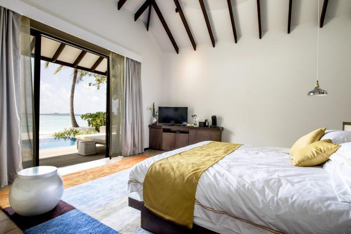 Zimmer im ROBINSON Club Noonu auf den Malediven