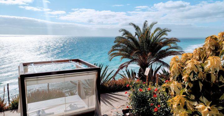 Arbeitsplatz mit schönster Aussicht im Club Esquinzo Playa