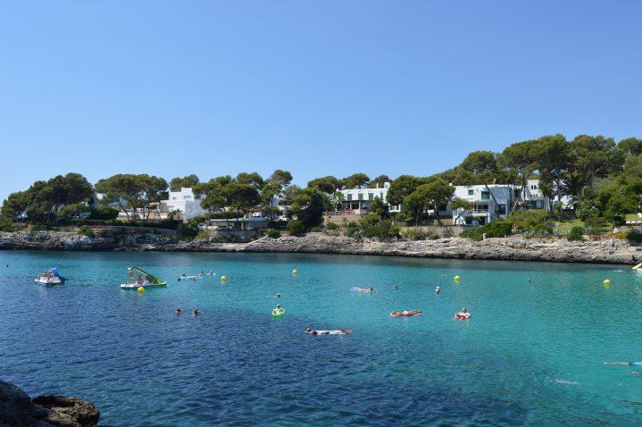 Bucht in Cala d`Or auf Mallorca