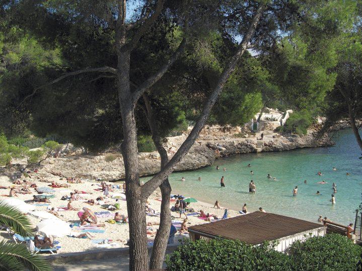 Bucht in Cala d´Or auf Mallorca