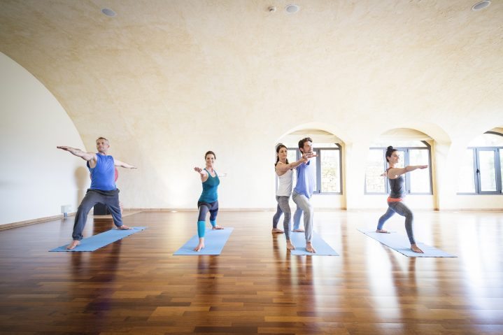Yogakurs im Robinson Cala Serena auf Mallorca