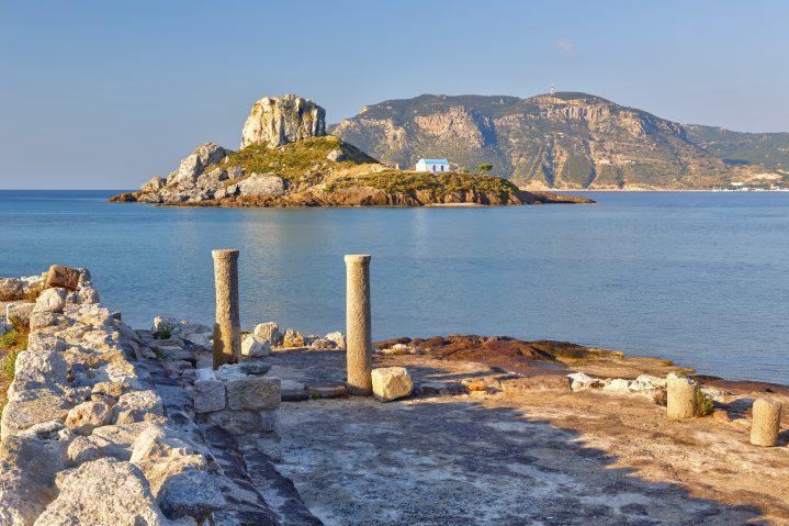 Kapelle auf der Insel Kastri bei Kos