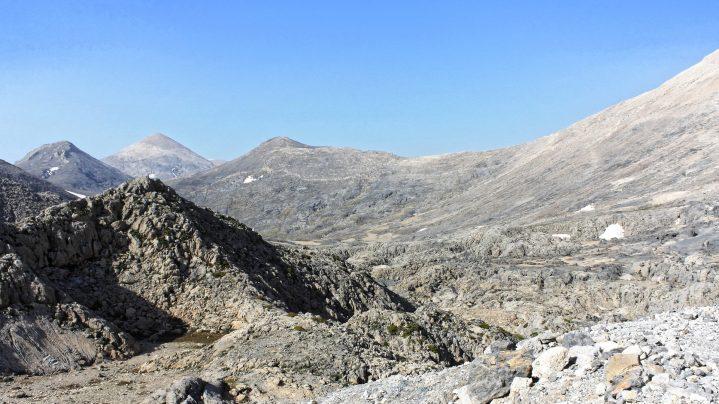 Lefka Ori Gebirge auf Kreta